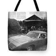 1970 Plymouth Superbird - Announcing A New Kind Of Runner Tote Bag