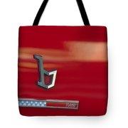 1971 Alfa Romeo Montreal Emblem Tote Bag