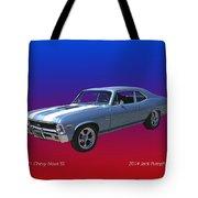 1971 Chevy Nova S S Tote Bag