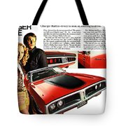 1971 Dodge Charger Rallye Tote Bag