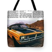 1971 Dodge Demon 340 Tote Bag