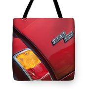 1971 Fiat 500 Jolly Taillight Tote Bag