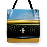 1971 Ford Mustang Mach 1 Front End Tote Bag