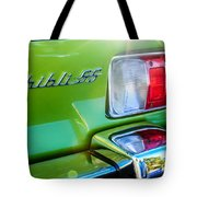 1971 Maserati Ghibli 4.9 Ss Spyder Taillight Emblem -0187c Tote Bag