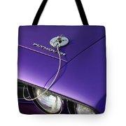 1971 Plum Crazy Purple Plymouth 'cuda 440 Tote Bag by Gordon Dean II
