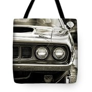 1971 Plymouth Cuda 383 Tote Bag
