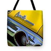 1972 Chevrolet Chevelle Taillight Emblem Tote Bag