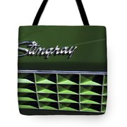 1972 Chevrolet Corvette Stingray Emblem Tote Bag