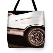 1972 Oldsmobile Cutlass 4-4-2 Tote Bag