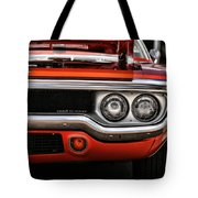 1972 Plymouth Road Runner Tote Bag