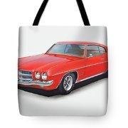 1972 Pontiac Lemans Tote Bag