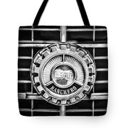 1973 Ford Ranchero Grille Emblem -0769bw Tote Bag