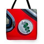 1974 Alfa Romeo Gtv Emblem  Tote Bag
