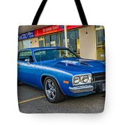 1974 Plymouth Roadrunner Tote Bag