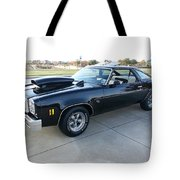 1976 Chevy Malibu Modified Muscle Car Tote Bag