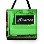 1977 Ford Bronco Taillight Tote Bag