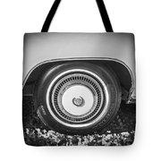 1978 Cadillac Eldorado Bw Tote Bag