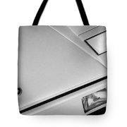 1982 Lamborghini Countach 5000s Hood Emblem -1518bw Tote Bag
