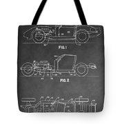 1983 Corvette Patent Tote Bag
