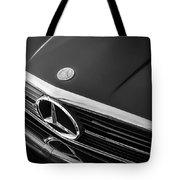 1984 Mercedes 500 Sl Convertible Bw Tote Bag
