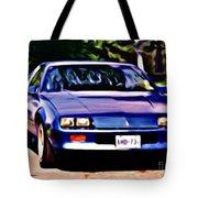 1985 Chev Camero Tote Bag