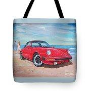 1985 Porsche 911 Targa Tote Bag
