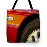 1988 Alfa Romeo Spider Quad Emblem Tote Bag
