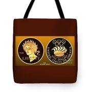 1988 Usa Olympic Gold Tote Bag