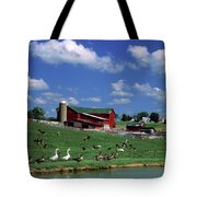 1990s Amish Family Farm Bunker Hill Tote Bag