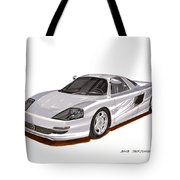 1991 Mercedes Benz C 112 Concept Tote Bag
