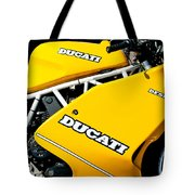 1993 Ducati 900 Superlight Motorcycle Tote Bag