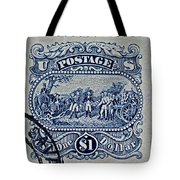 1994 Battle Of Saratoga Stamp Tote Bag
