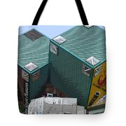 1996 Cube Houses On Eastern Avenue Tote Bag