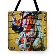 1996 Native American Stamp Tote Bag