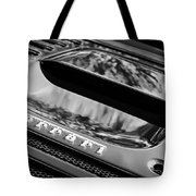 1997 Ferrari F 355 Spider Rear Emblem -117bw Tote Bag