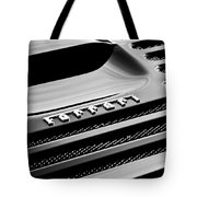 1997 Ferrari F 355 Spider Rear Emblem -153bw Tote Bag