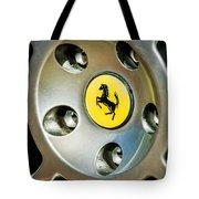 1997 Ferrari F 355 Spider Wheel Emblem -201c Tote Bag
