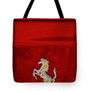 1999 Ferrari 550 Maranello Emblem -651c Tote Bag