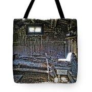 19th Century Miner's Cabin - Montana Tote Bag