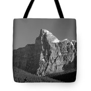 1m3621-bw-v-outlier Of Mt. Murchison Tote Bag