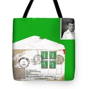 1st Day Cover 1950 Manila Philippine Islands David Lee Guss 1949 Passport Photo  Collage 1950-2012 Tote Bag