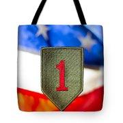 1st Infantry Division Tote Bag