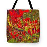 0477 Abstract Thought Tote Bag
