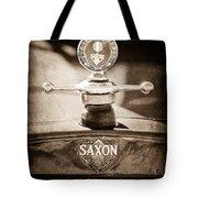 1915 Saxon Roadster Hood Ornament Tote Bag
