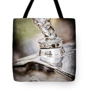 1927 Franklin Sedan Hood Ornament Tote Bag by Jill Reger