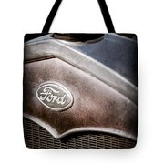 1931 Ford Grille Emblem Tote Bag