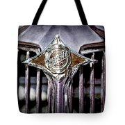 1933 Chrysler Sedan Grille Emblem Tote Bag