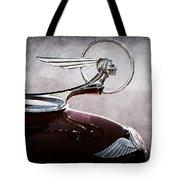1933 Pontiac Hood Ornament Tote Bag