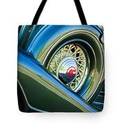 1933 Pontiac Spare Tire -0431c Tote Bag