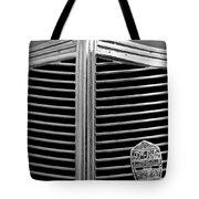 1936 Desoto Airstream Grille Emblem Tote Bag